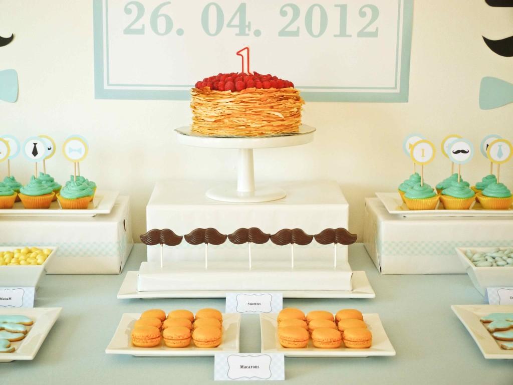 gâteau anniversaire little man