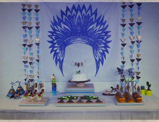 pow wow party anniversaire