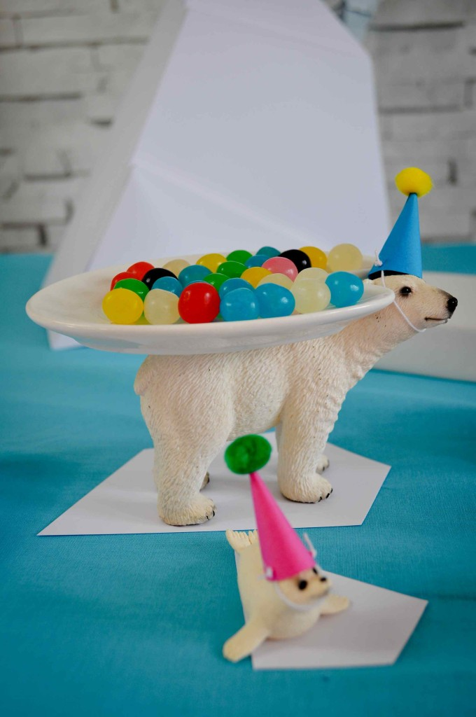 animaux polaire candy bar