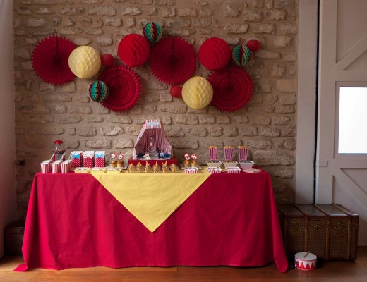 circus party anniversaire