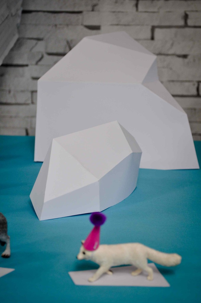 icebergs papier