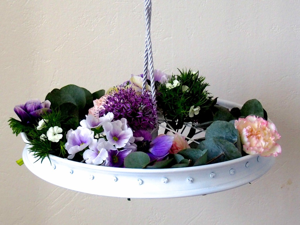 mobile décoration florale