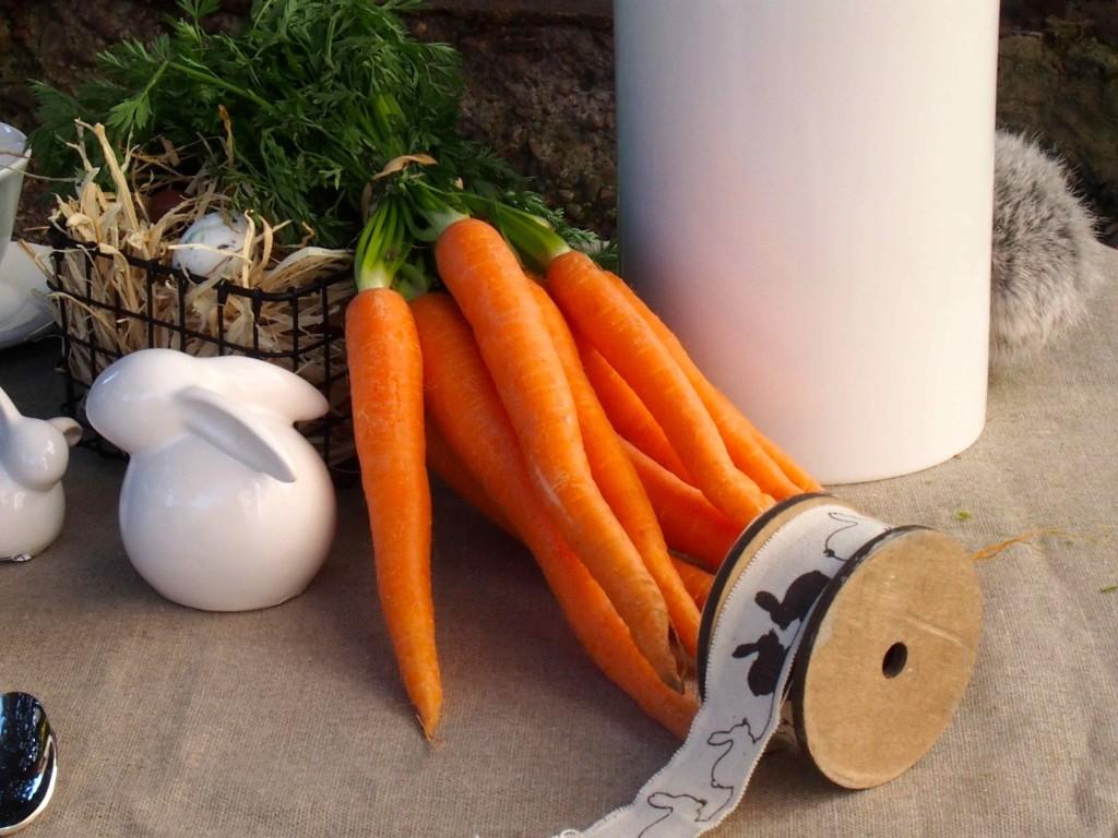 carottes lapin décoration