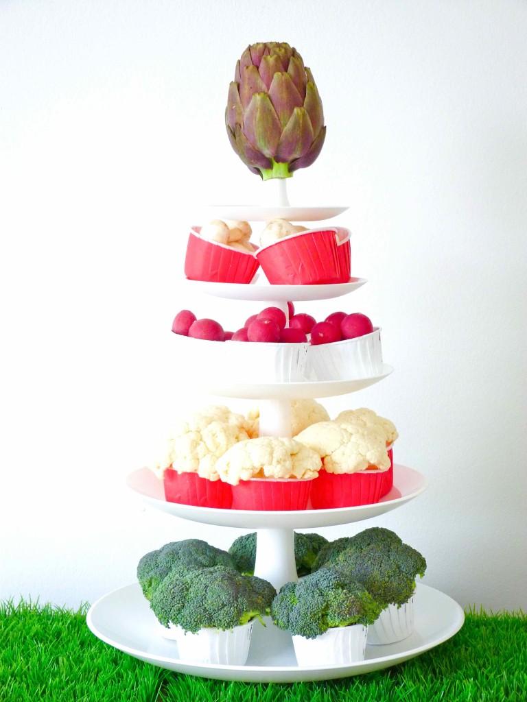 cupcakes légumes