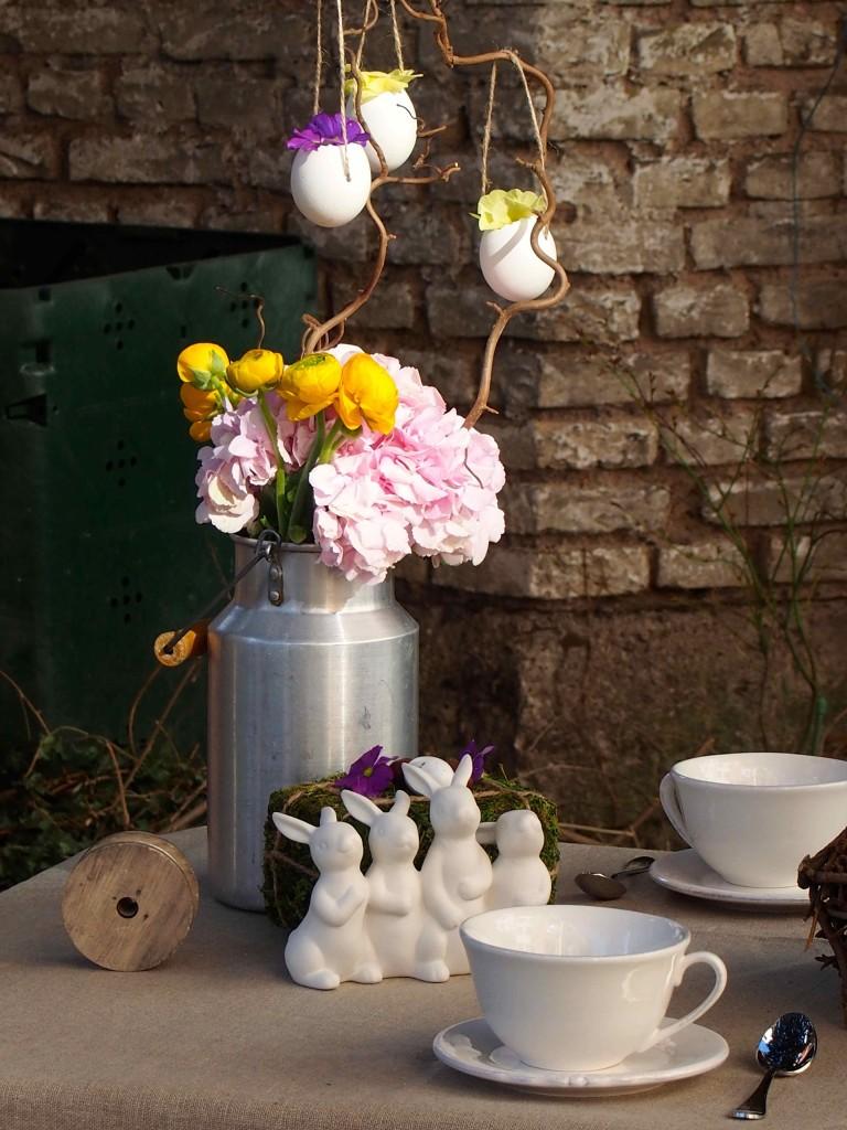 décoration pâques lapin