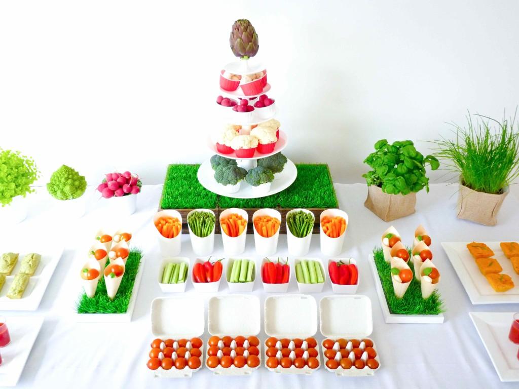 happy veggie party