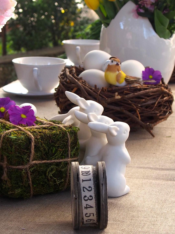 lapin pâques décoration