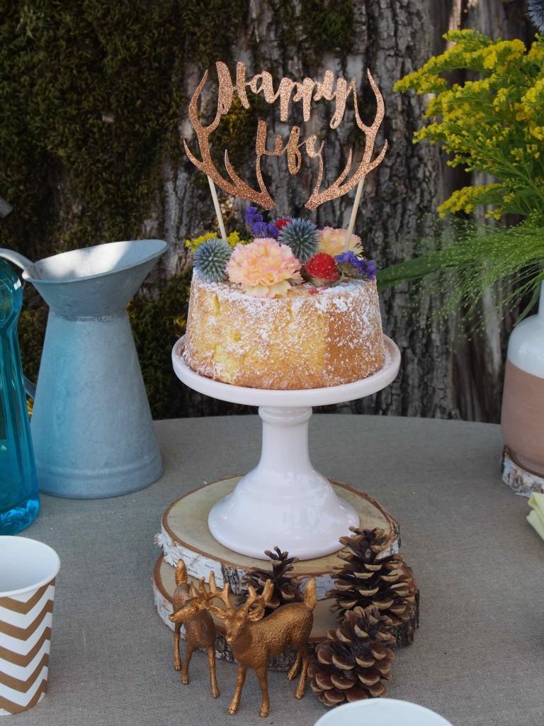 Présentoir à gâteaux Miss Etoile