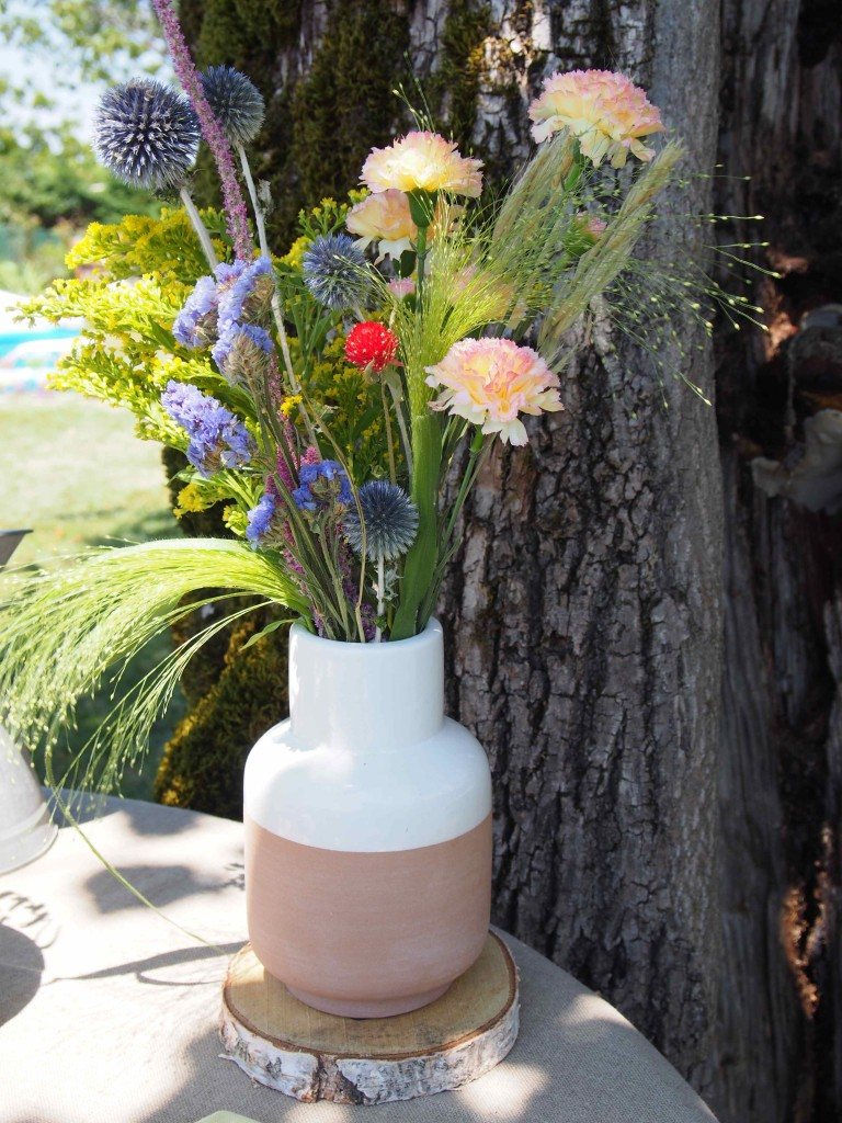 Bouquet fleurs bohème
