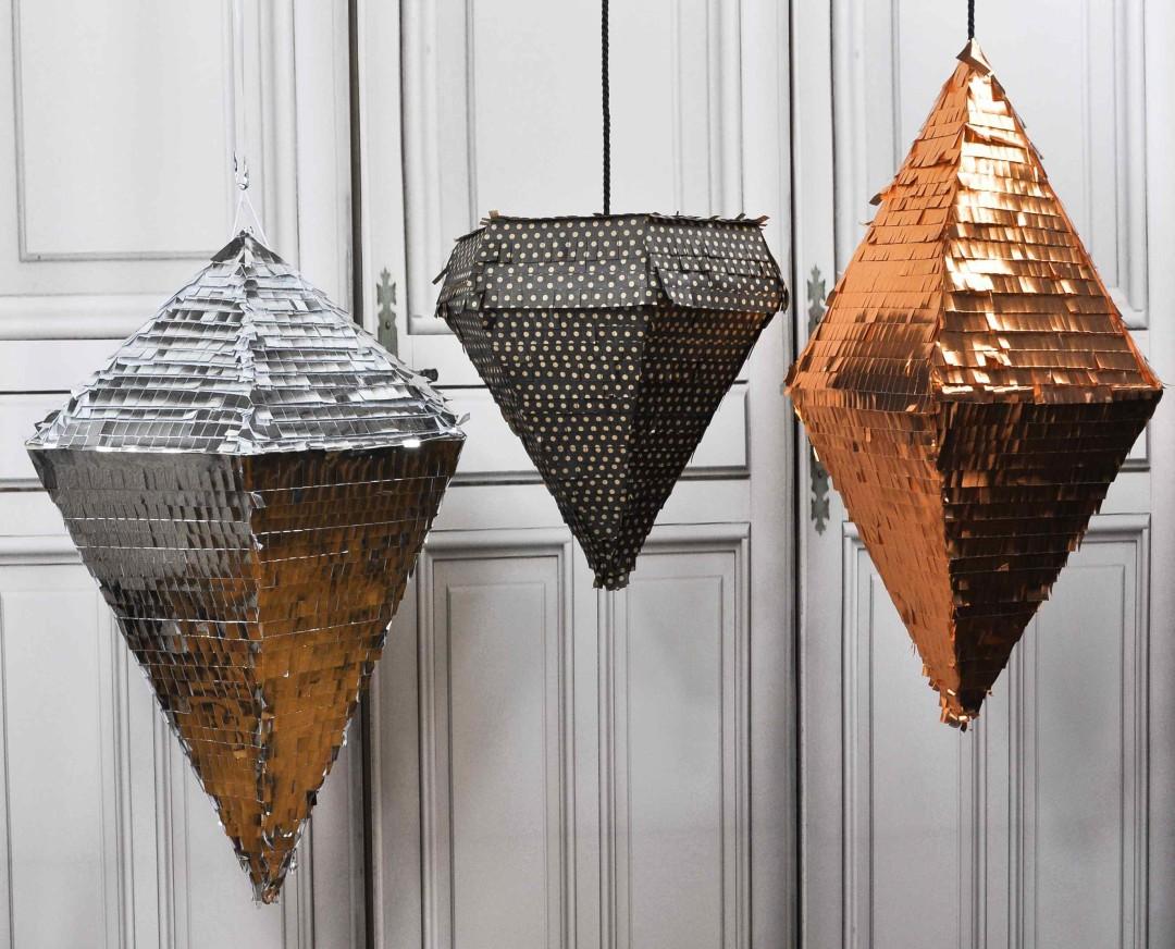 pinatas formes géométriques
