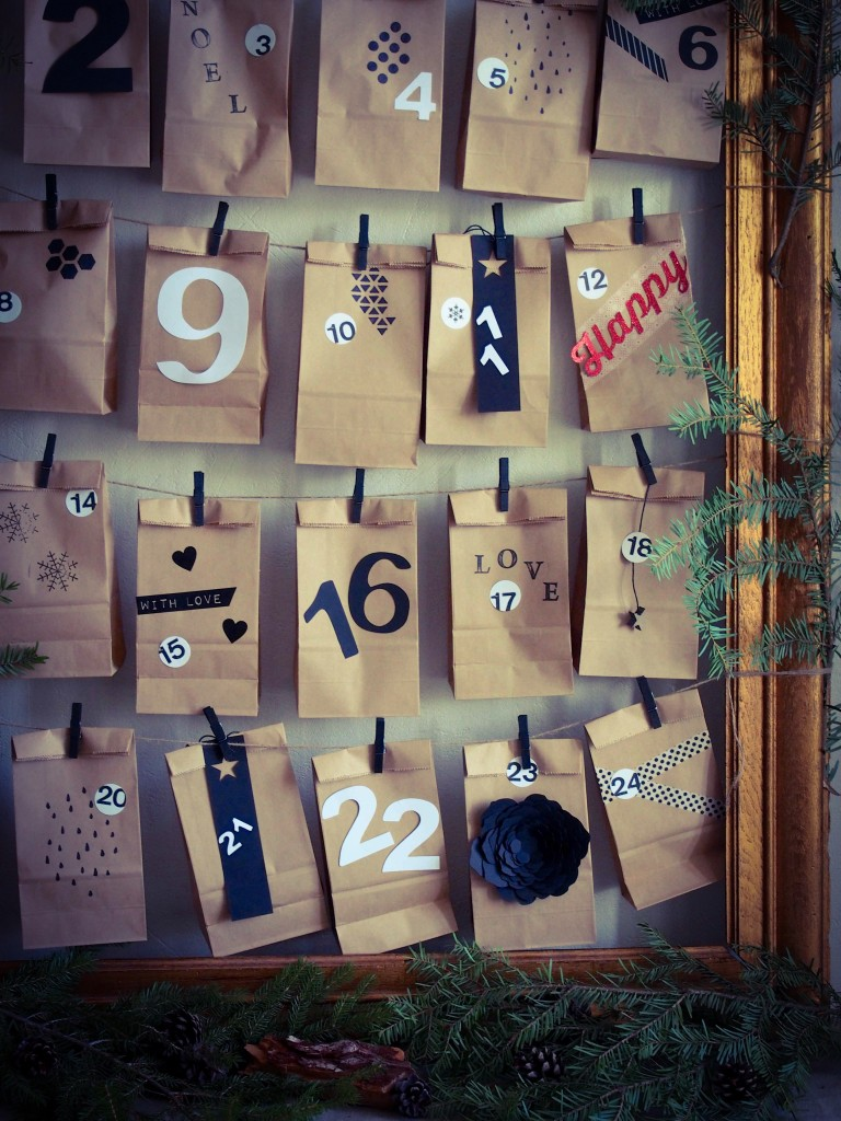 calendrier créatif