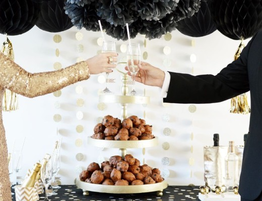 décoration fête nouvel an