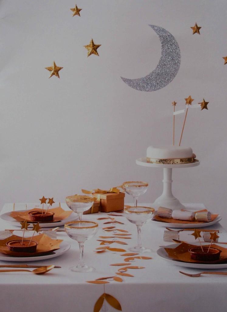 décoration lune étoiles