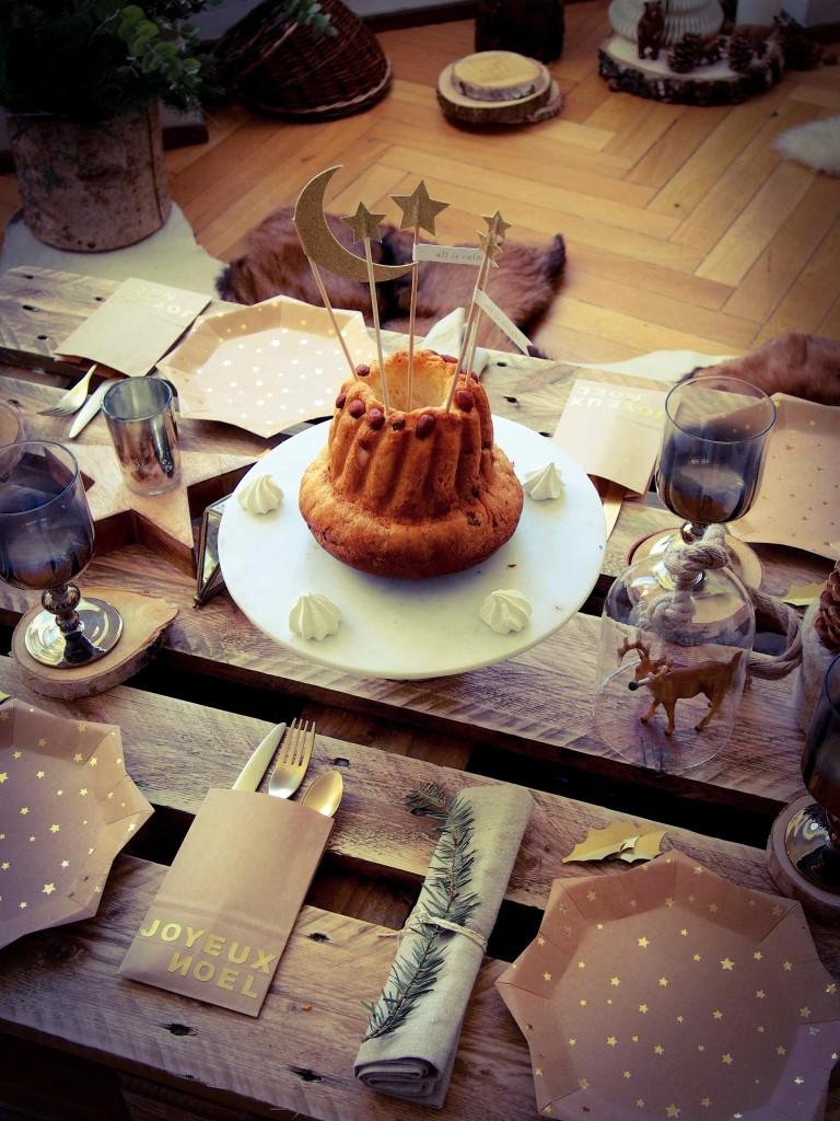 décoration de table rustique