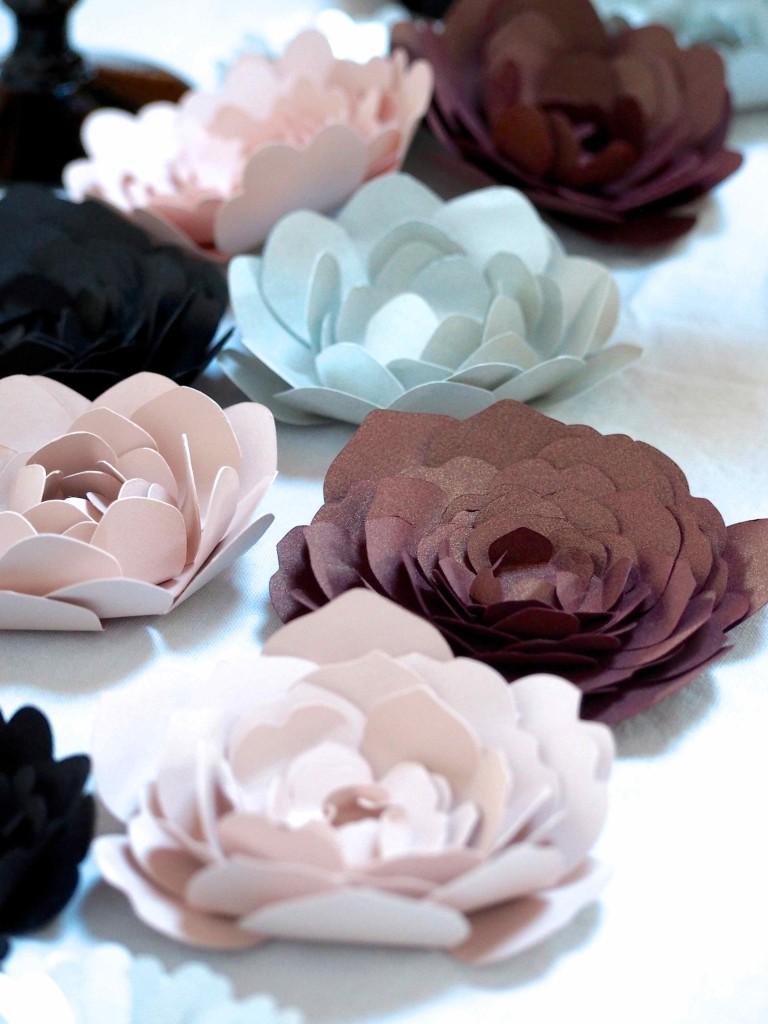 chemin de table en fleurs