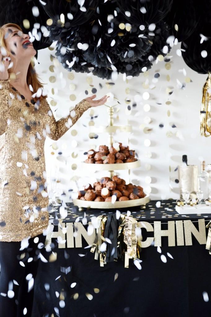 confettis fête