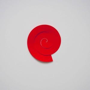 bouton de fleur en papier
