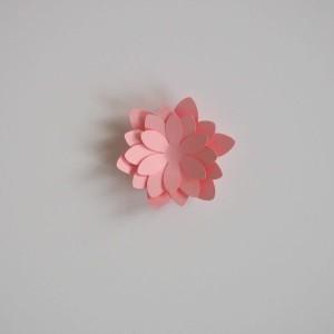 fleur en papier déco