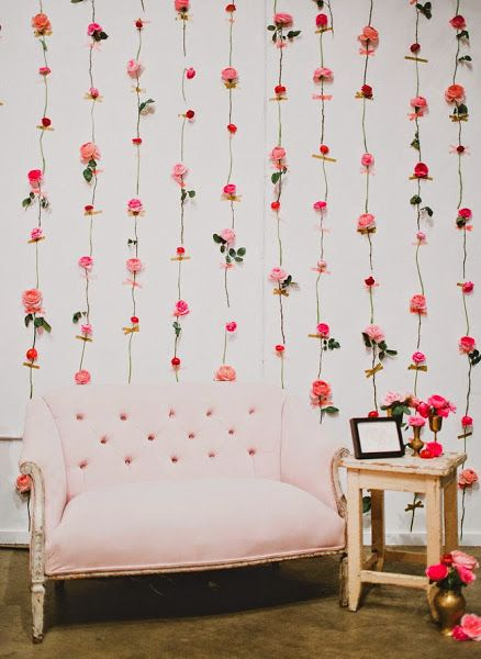 photocall fleurs