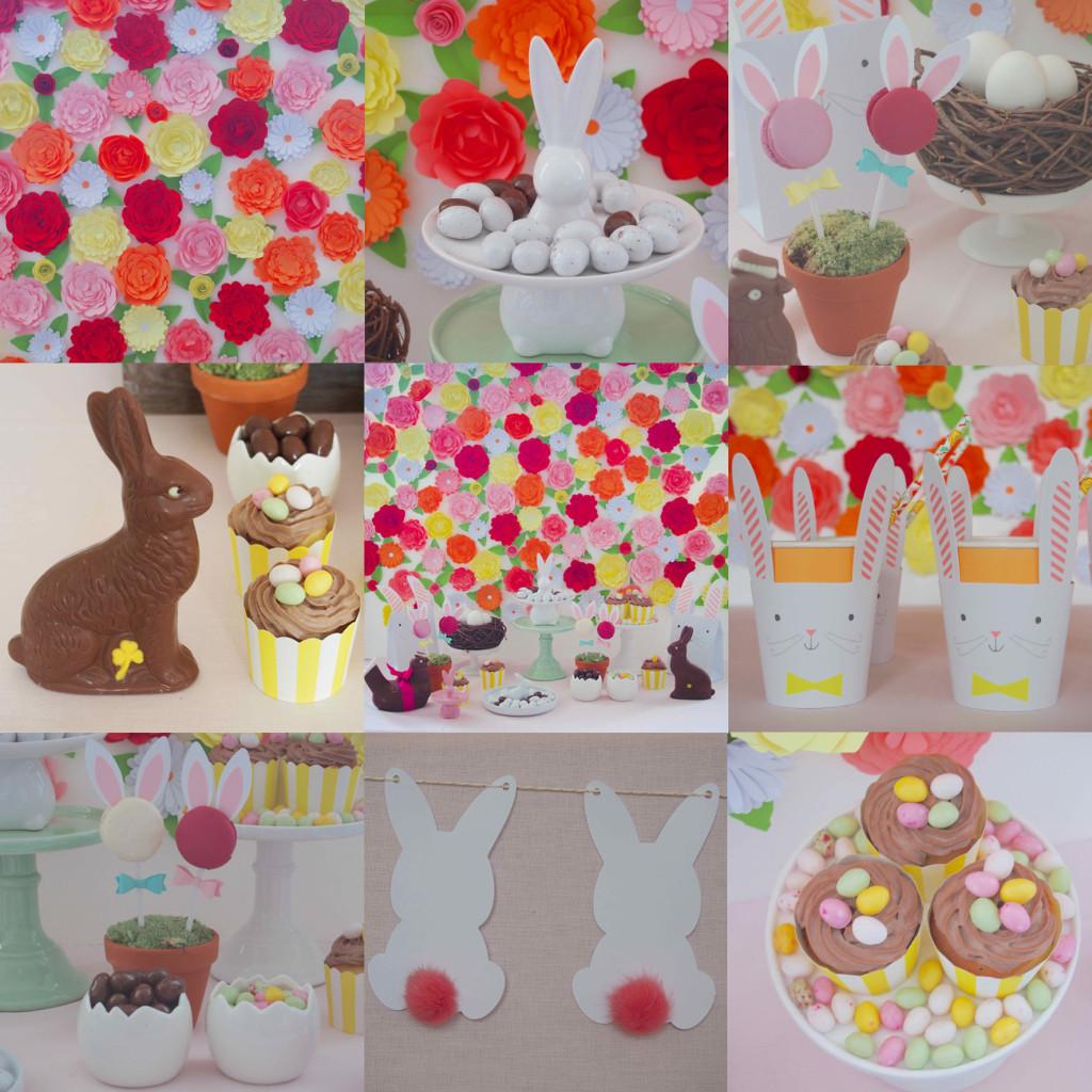 table pâques décoration