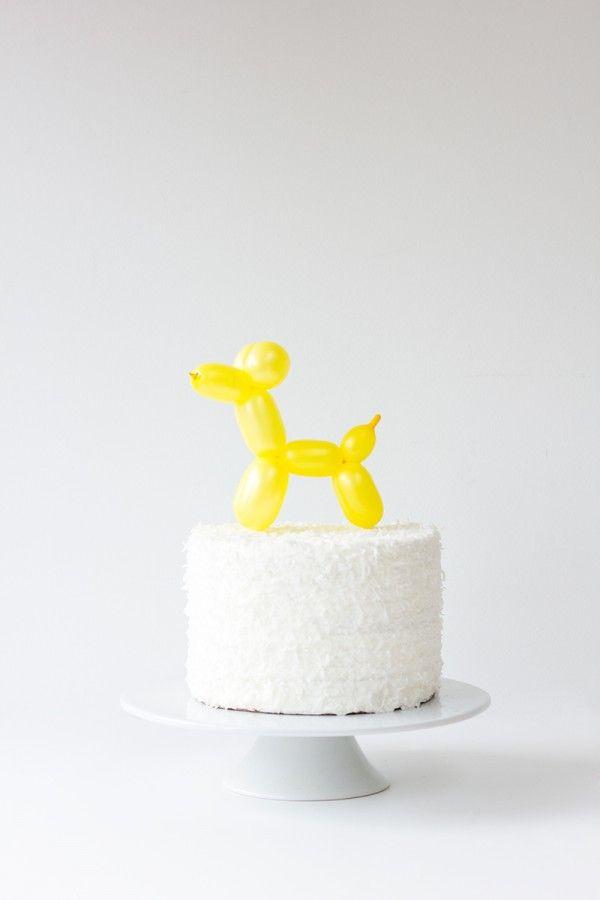 cake topper ballon animal