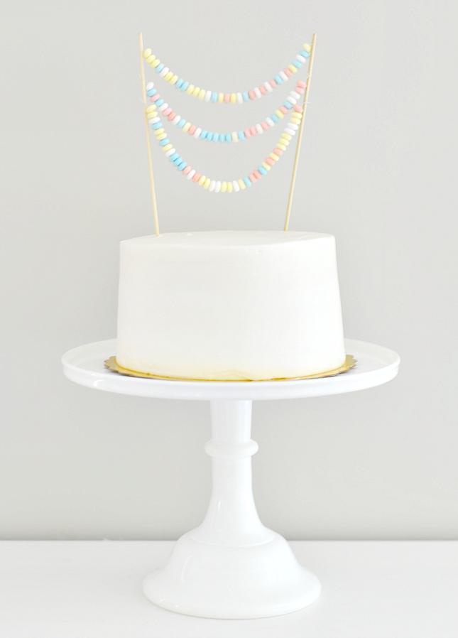 cake topper bonbons