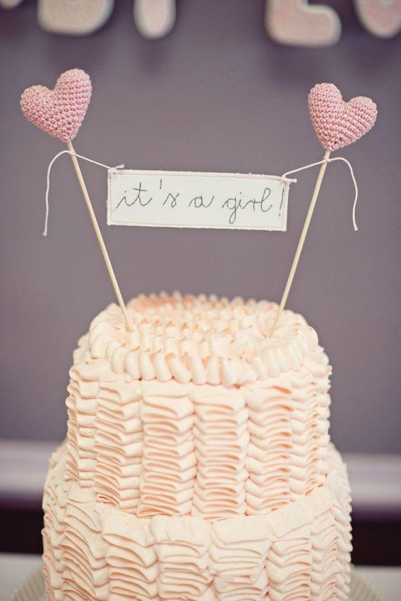 cake topper coeur crochet