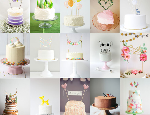 idées cake toppers