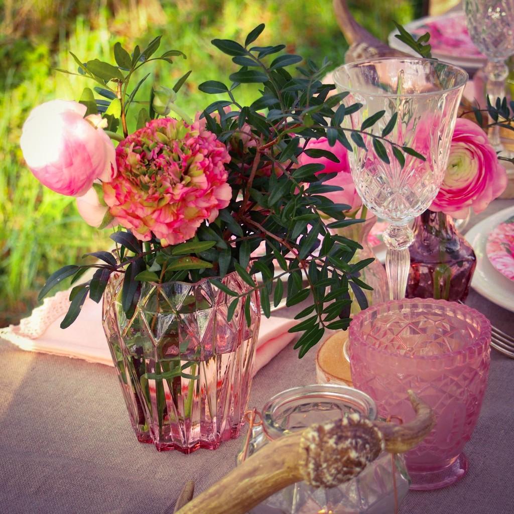 deco rose fleurs