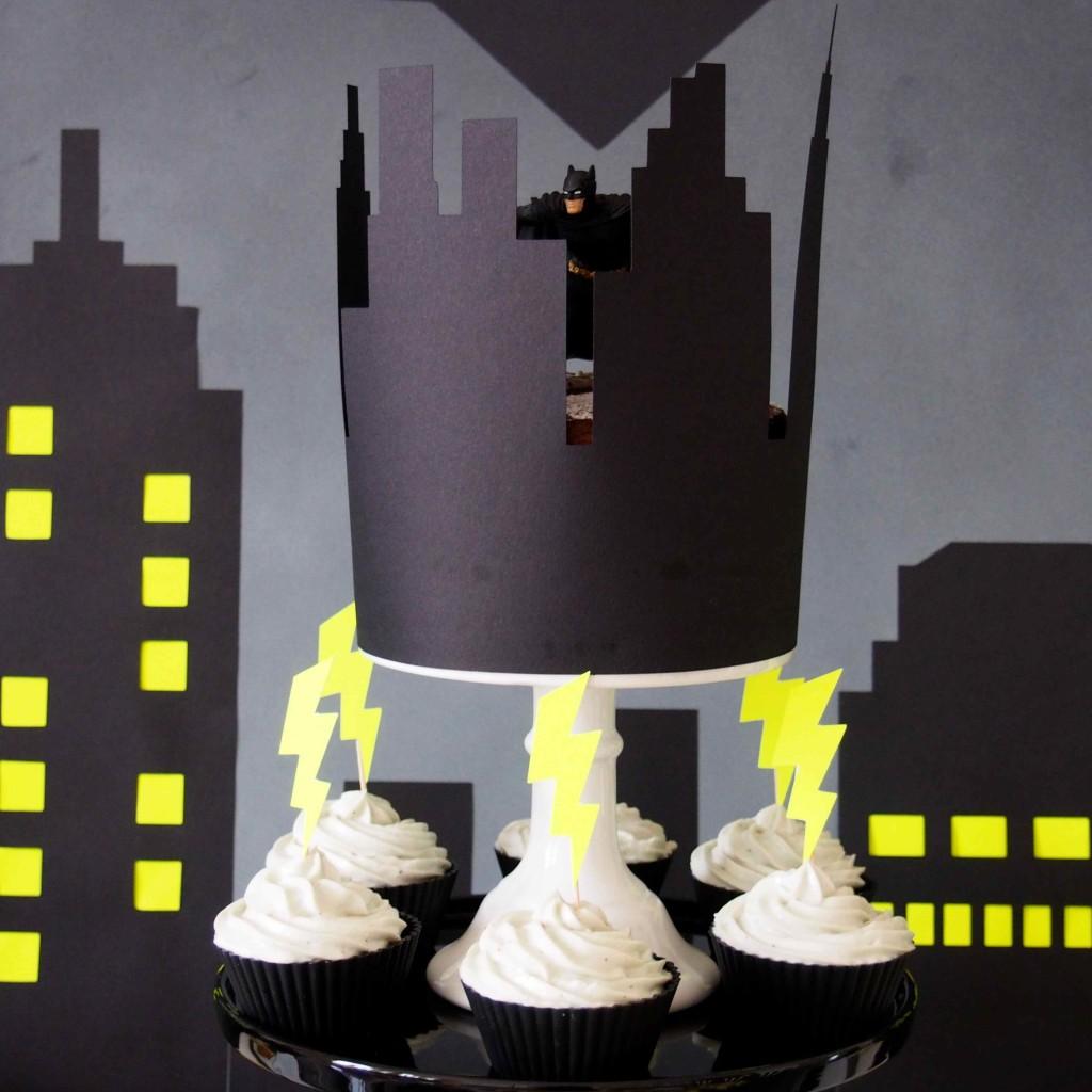 gâteau superhéros