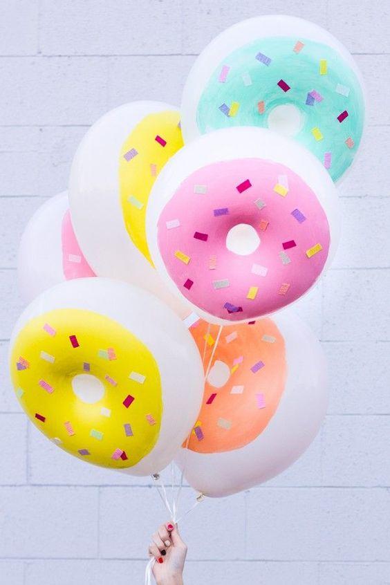 ballon donut