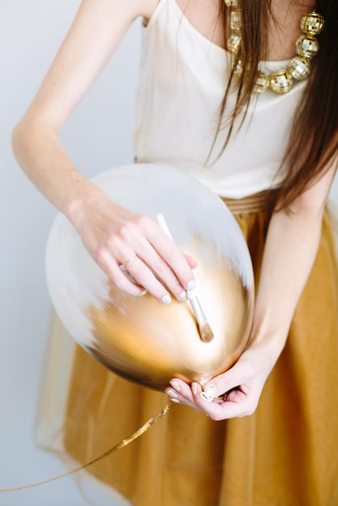 ballon métallisé