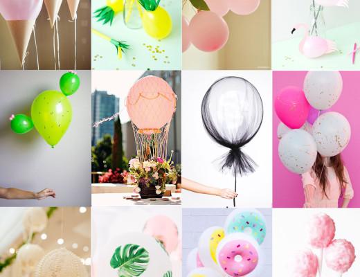 idées ballons customisation
