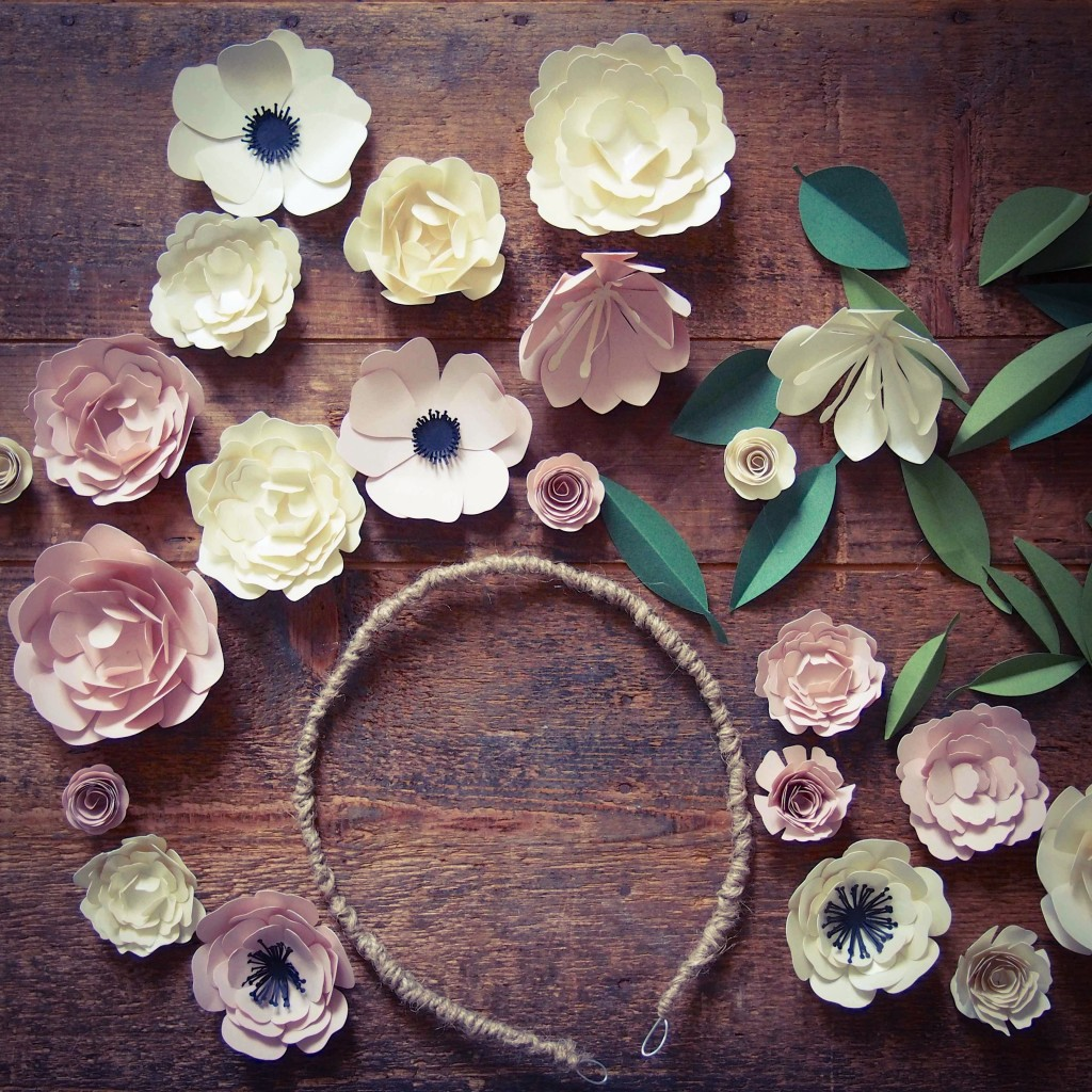couronne fleurs tutoriel