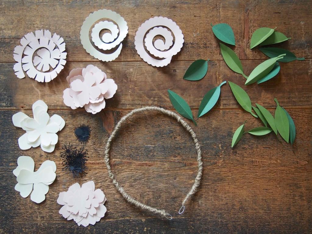 fleurs papier tutoriel