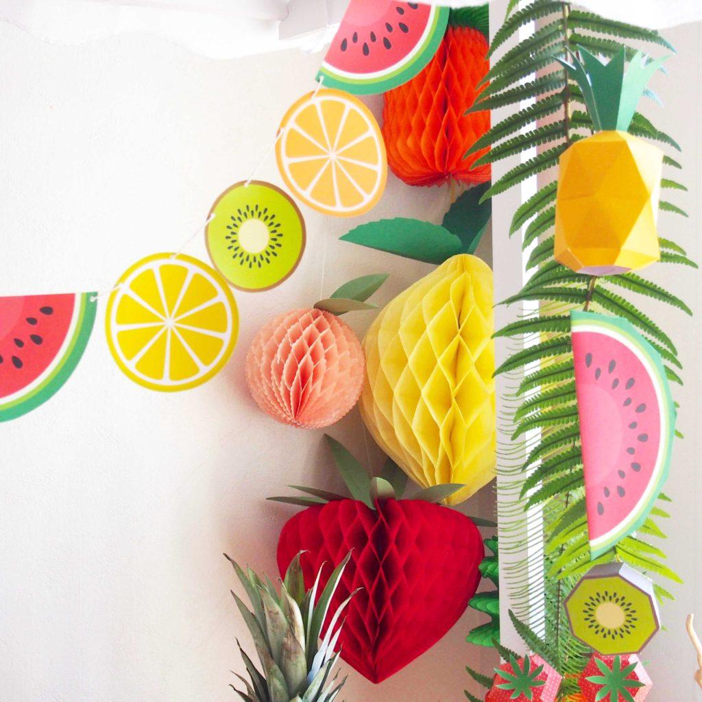 guirlande-en-papier-fruits