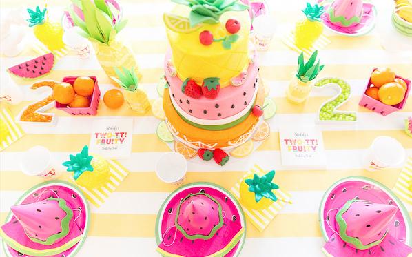 Tutti frutti rose caramelle carnet d 39 inspiration - Idees deco ete pour un decor frais et joyeux ...