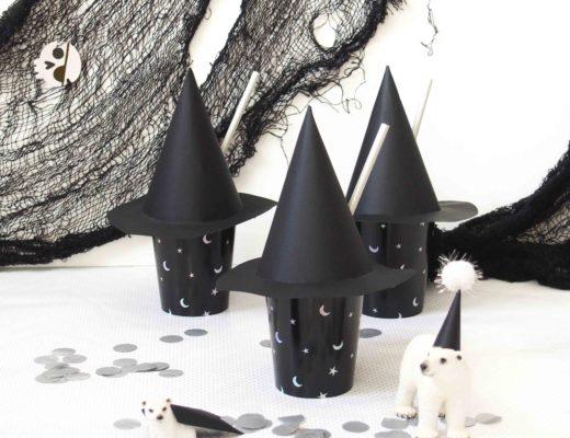 chapeau de sorcière diy