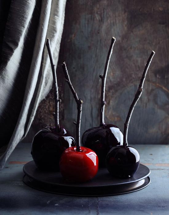 pommes d'amour-halloween