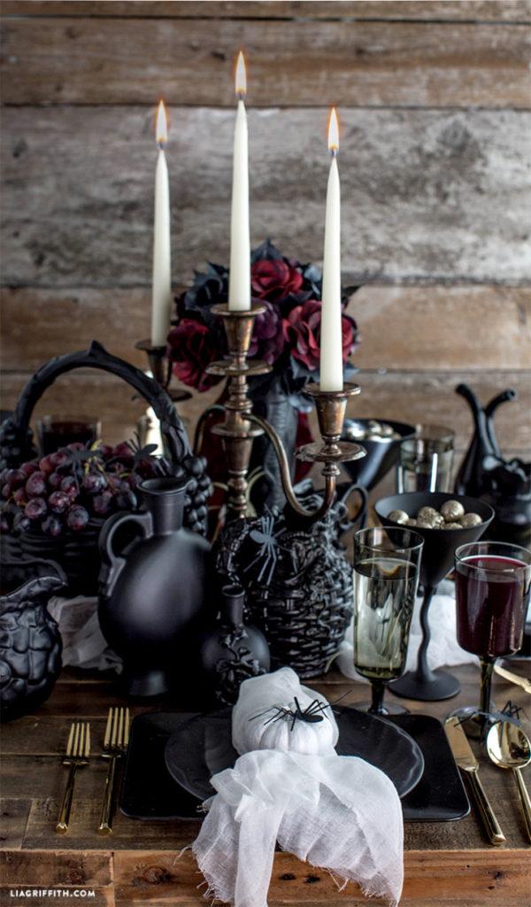 table-halloween-gothique