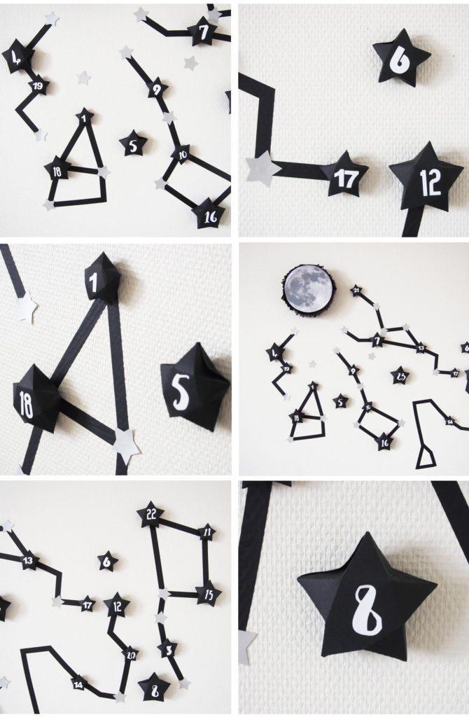 mur constellation tutoriel