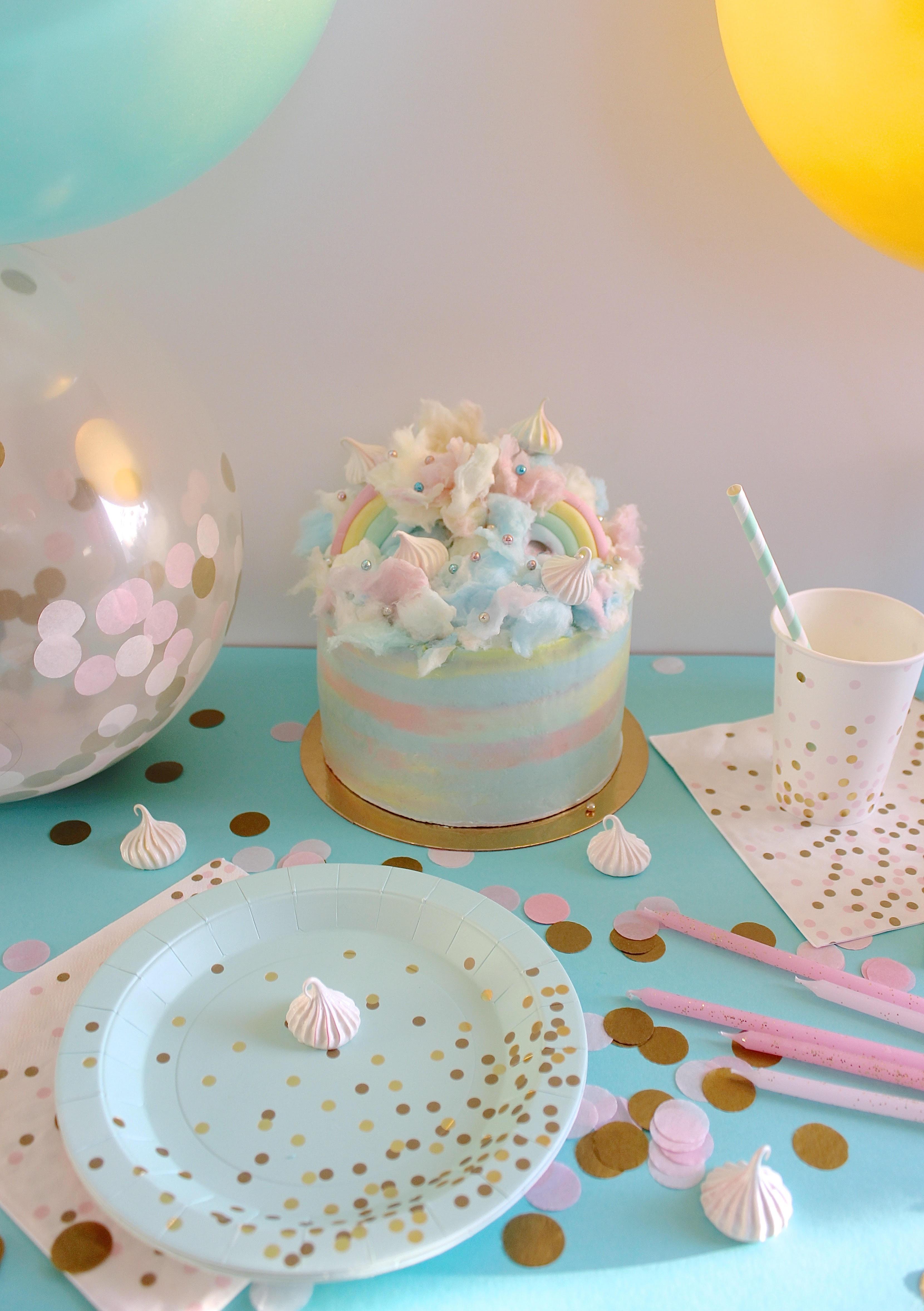decoration anniversaire licorne pastel. Black Bedroom Furniture Sets. Home Design Ideas