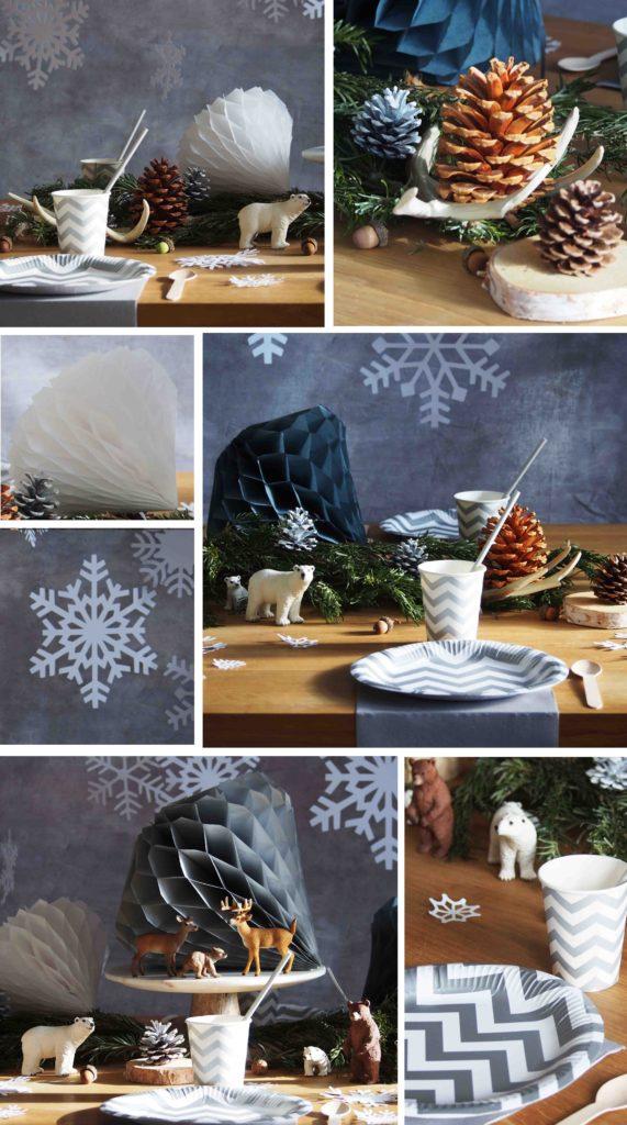 anniversaire décoration reine des neiges