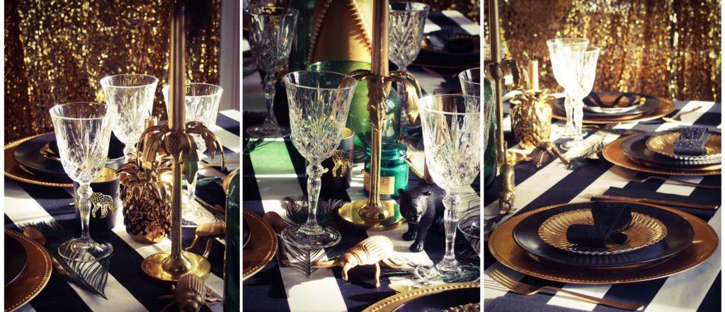 table fête décoration Gatsby