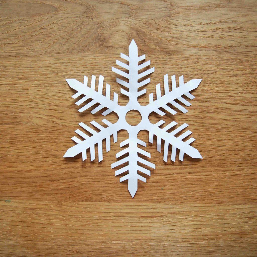 flocon de neige tutoriel