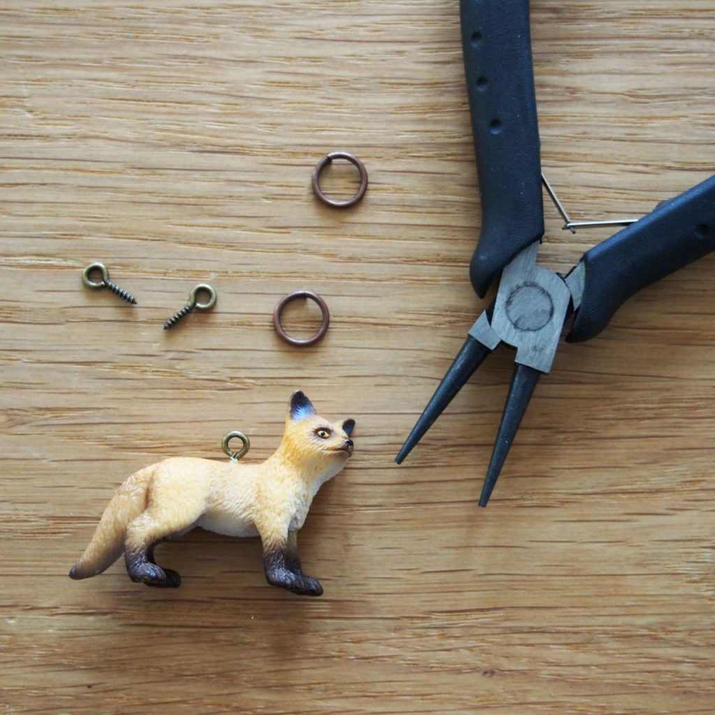 collier renard diy