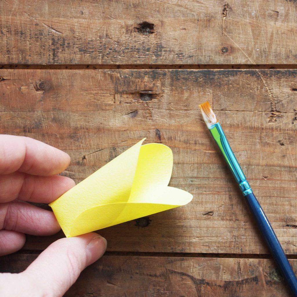 tulipe papier déco