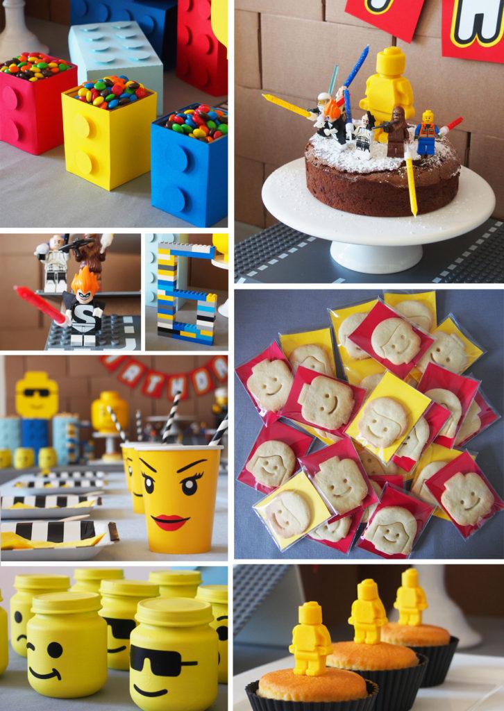 anniversaire enfant thème lego