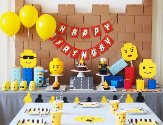 anniversaire thème lego