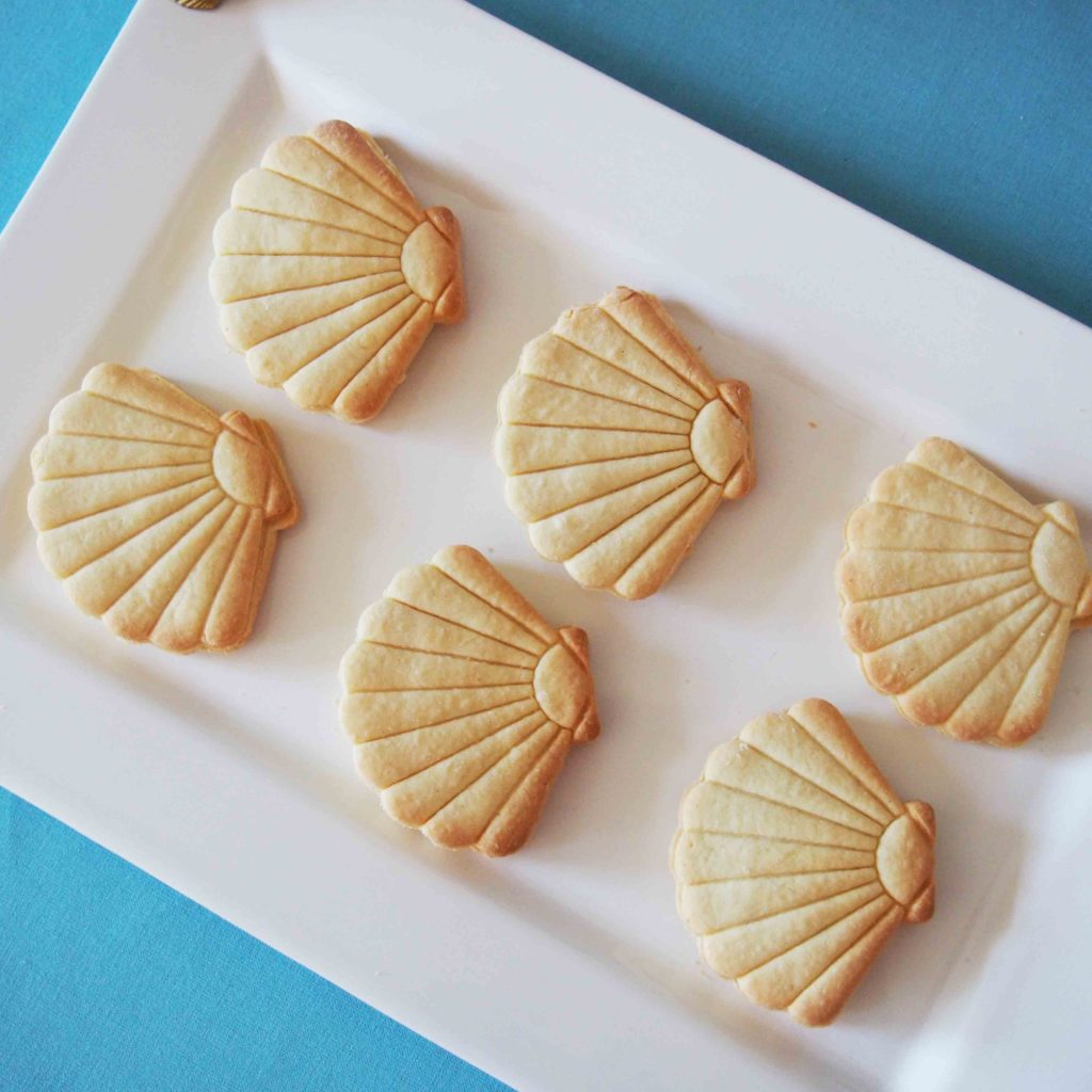 biscuits coquillage